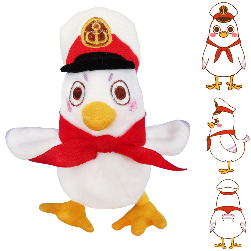 Cartoon Cute Army Chicken Plush Dolls Toy Chicken Plush Toys Soft Dolls Chirstmas Kid Gift Birthday Present High Quality