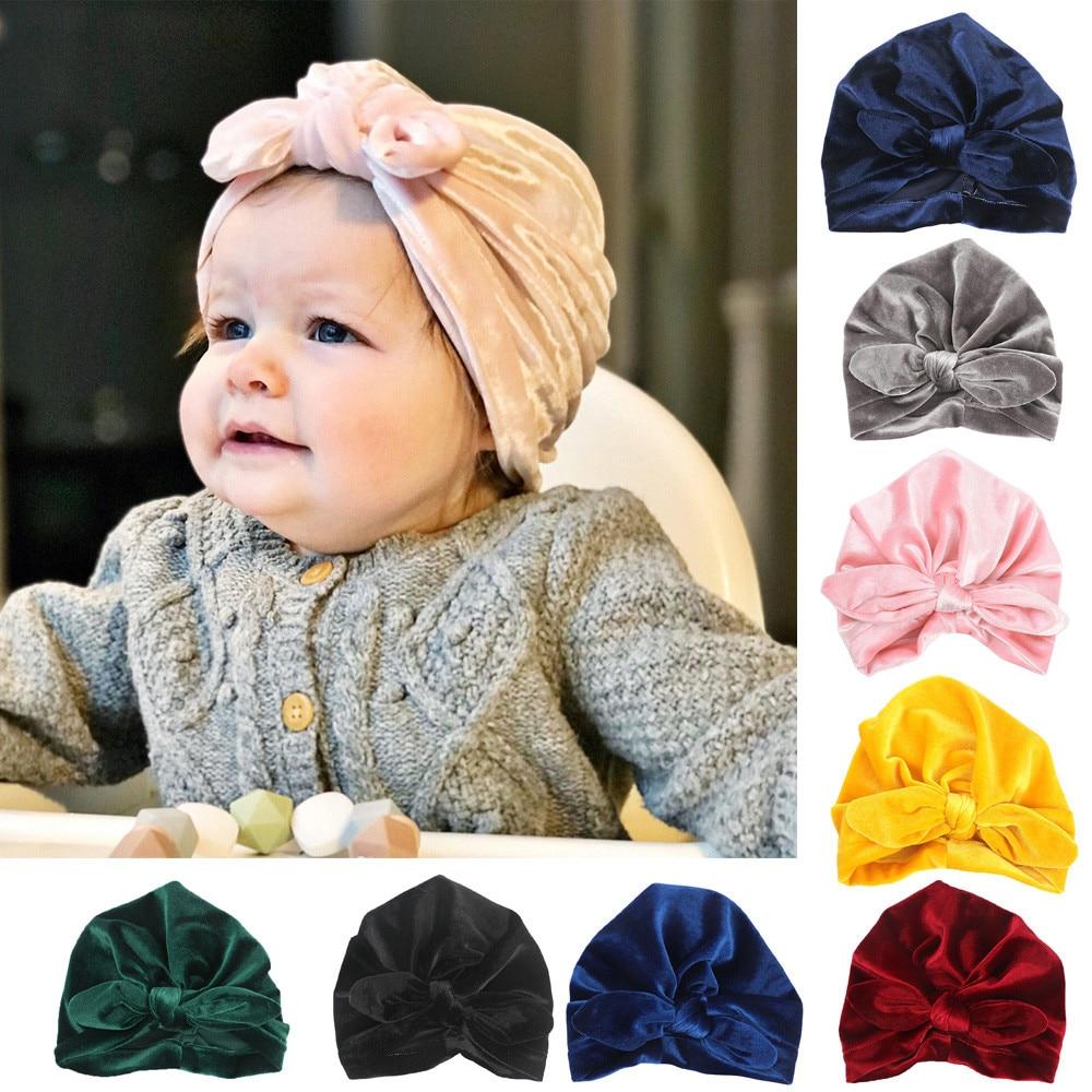 Detail Feedback Questions about MUQGEW Baby Hat Newborn Girls Boys baby  accessories Rabbit Ears Bowknot Cotton Sleep Cap casquette enfant Baby Hat  Headwear ... c48716fe957f