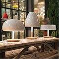 Скандинавские дизайнеры  креативная модная деревянная прикроватная лампа для спальни  современный минималистичный милый гриб  настольные ...