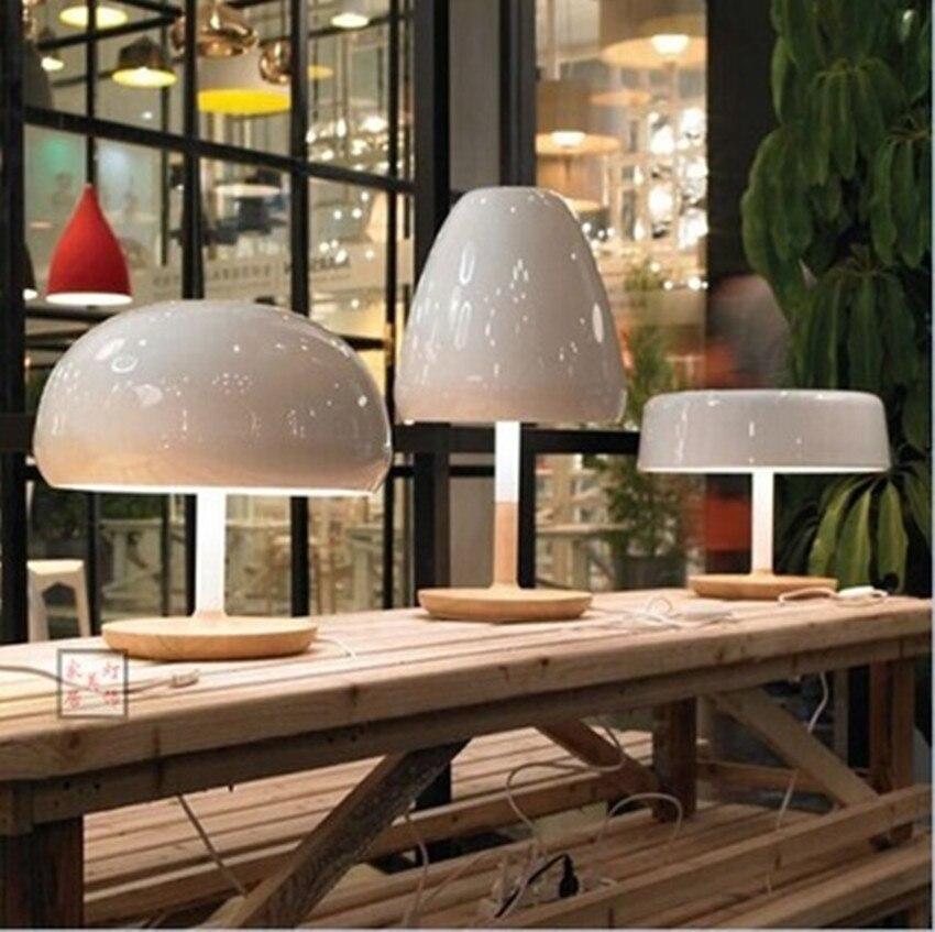 Comodino Lampade Camera Da Letto Design.Designer Nordici Di Legno Di Modo Creativo Lampada Da Comodino