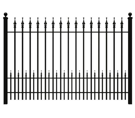 Hench Aluminum Fence Gates And Fences Vinyl Gate Pvc