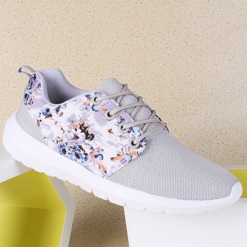 KUYUPP Fashion Breathable Print Flower Women Trainers Casual Shoes 2016 Summer Mesh Low Top Shoes Zapatillas Deportivas YD95 (9)