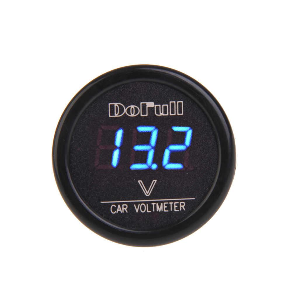 Universale Digital Car Voltmetro Accendisigari Caricatore di Controllo di Tensione RGB Display Digitale Elettronico Auto 12/24V