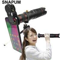 SNAPUM мобильный телефон 36x Телескоп Камера зум оптический телефон телеобъектив для iphone samsung OPPO VIVO xiaomi