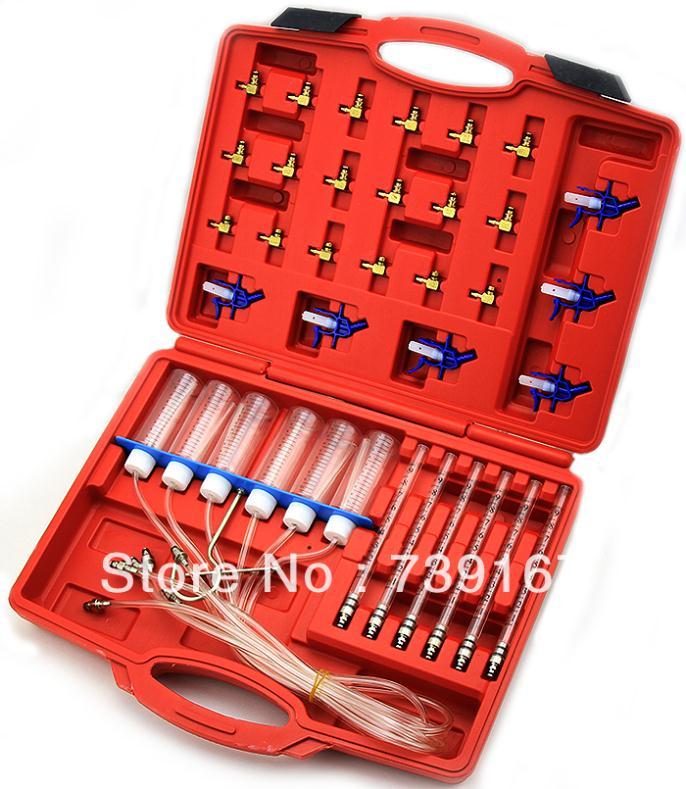 Voiture Diesel Injecteur Débit Détecteur Diagnostique Outil De Cylindre Automatique de Testeur D'injecteur De Rail Commun Ensemble ST0003