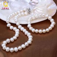 100% reale naturale perla d'acqua dolce dei monili per le donne collana e braccialetto di fascino accessaries regalo set di gioielli vintage design