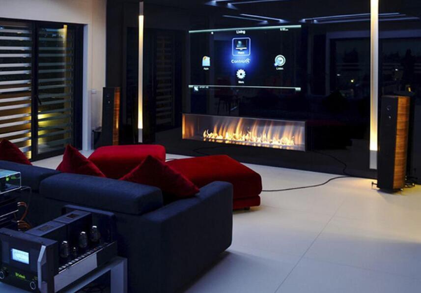 48 Inch Real Fire Intelligent Smart Etahnol Indoor Used Fireplace