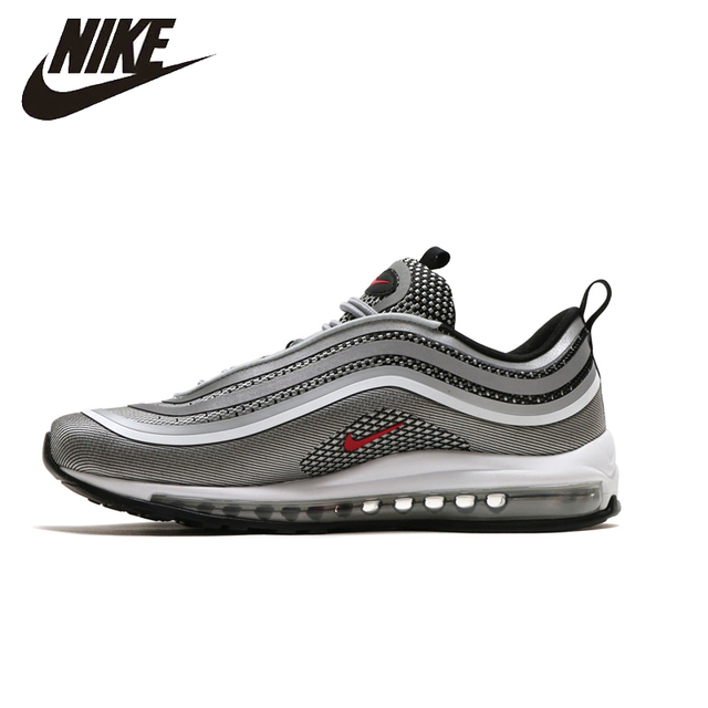 NIKE AIR MAX 97 Ultra Hommes Chaussures de Course Respirant Chaussures  Super Stabilité à La Lumière