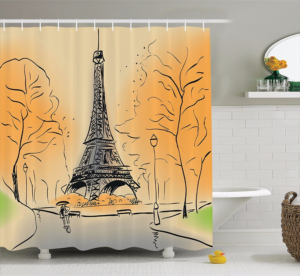Eiffel tower bathroom decor - Eiffel Tower Bathroom Decor