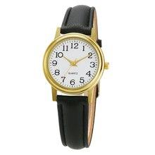 קלאסי שעונים נשים בציר ערבית מספר קוורץ שעון גבירותיי אופנה יוקרה מותג שעוני יד נקבה שעון