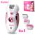 Mulheres barbeador kemei 4 em 1 recarregável depilador elétrico máquina da remoção do cabelo senhora removedor de calos pedicure cuidados com os pés ferramenta bt-168