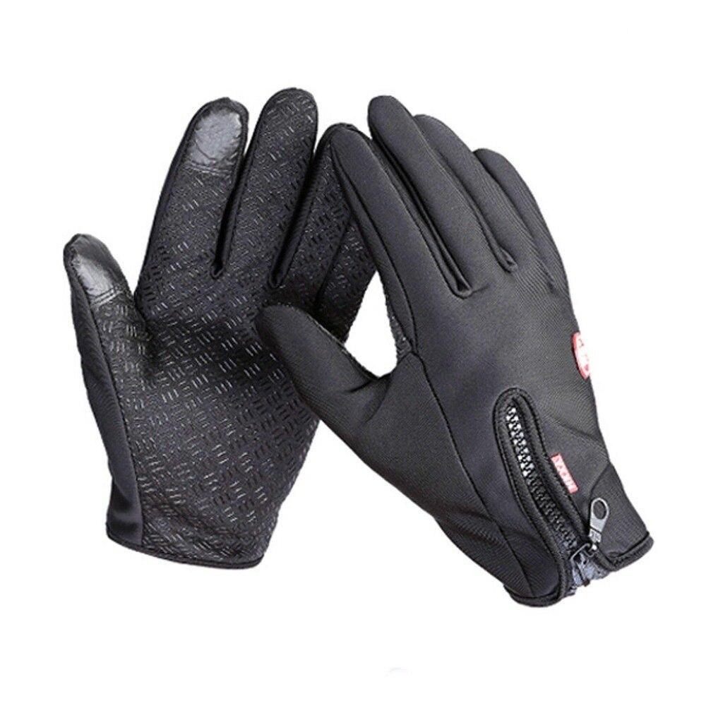 Mens ski gloves xl - New Arrived Brand Women Men M L Xl Ski Gloves Snowboard Gloves Motorcycle Riding Winter Screen Snow