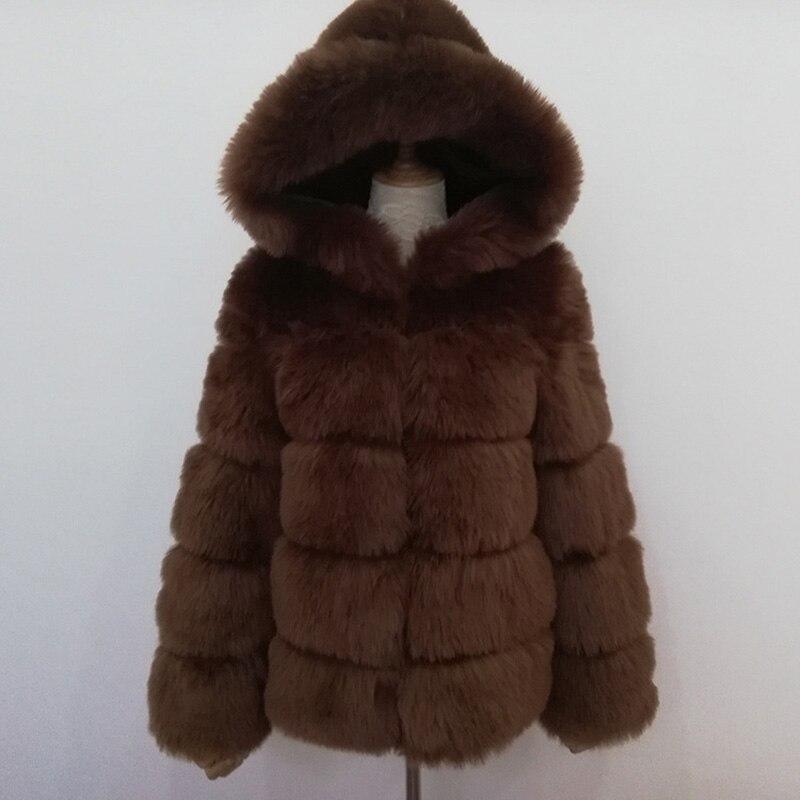 Women Warm Real Fox Fur Coat Short Slim Winter Genuine Fur Jacket Fashion Outwear Luxury Natural Fox Fur Coat For Girls FC 035