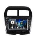 """8 """"dvd player do carro sistema de navegação gps para mitsubishi asx rvr outlander esporte PEUGEOT 4008 CITROEN C4 2010 2011 2012 SEM CAN BUS"""