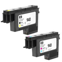 1set 940 C4900A C4901A Printhead Black / Yellow Magenta / Cyan For HP OfficeJet Pro 8000 8500 Printer
