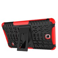 Shockproof Armor Stand Case For Samsung Galaxy Tablet 4 T230 Cover Hybrid TPU PU Cover For