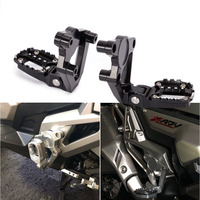 X ADV 750 Motorcycle Folding Rear Foot Pegs Footrest Passenger For HONDA XADV750 X ADV 750 2017 2018 2019 Black Silver 5 Colors