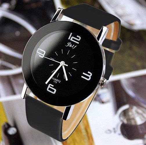 2018 NEW Luxury Fashion Brand Quartz Watch Women Ladies Men Casual Leather Bracelet Wristwatch Clock Hour  O100