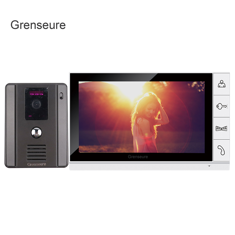 FREE SHIPPING New 9 inch Color TFT LCD Screen Video Door Phone Intercom System + 1 Night Vision Door Camera + 1 Monitor IN STOCK mw light потолочная люстра mw light жаклин 465013120