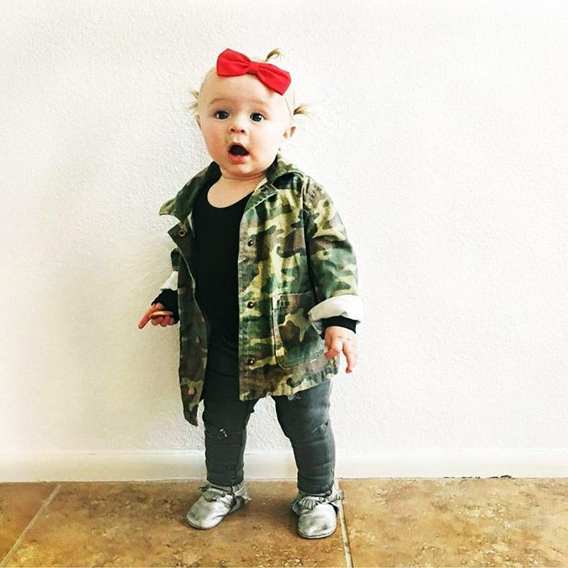 Yorkzaler Baby Girls Boys Jacket Cardigan 17 Fashion Spring Autumn Camouflage Coats Army Children's Windbreaker Outerwear 8