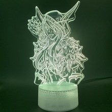 3d Optical Led Night Light Lamp Usb World of Warcraft Child Room Decorative Kids Birthday Gift Wow Sylvanas Windrunner