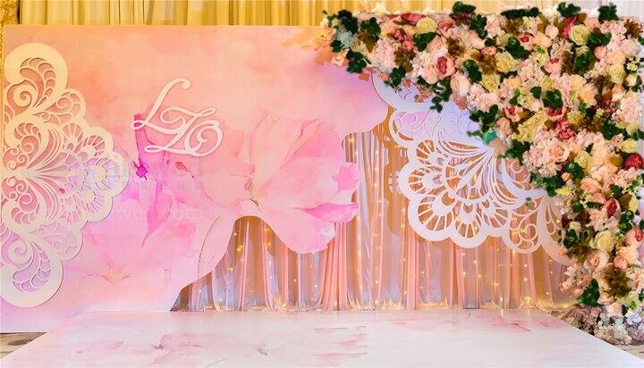 Casamento de luxo flor arco do Casamento Decoração