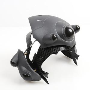 Image 2 - Avec LED respiratoire!!! Deux Mode!!! Casque de veuf pour Cosplay masque de veuf avec lentille France casque de joueur accessoires de Costume