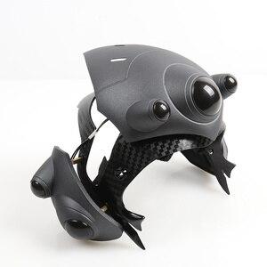 Image 2 - С дышащим светодиодом! Два режима! Шлем Widowmaker для косплея, маска Widowmaker с линзой, французский игрок, гарнитура, реквизит для костюма