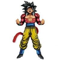 Anime Dragon Ball Z GT SMSP Super Saiyan 4 Goku Figurine Action Figure Toy Doll Figurals Brinquedos Collection DBZ Model Gift