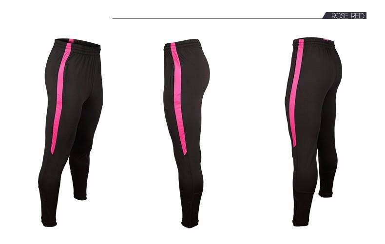 Soccer Training Pants Men Joggers Slim Skinny Jogging Running Tights Trousers Tracksuits Bottoms survetement football 2017 6