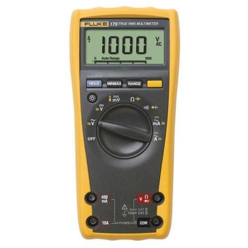 Оригинальный Авто Диапазон TRMS Multi Fluke метр 179c f179c Цифровой мультиметр Cat IV 600 В/CAT III 1000 В Fluke доверяемый Инструменты