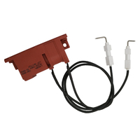 Earth Star 220-240V Pulse igniter two outlets with electrode spark wire 410mm for gas cooktop