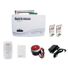 10 Defense Zones Home Alarm System Wireless GSM Alarm System With RU/EN/SPANISH Voice(China)