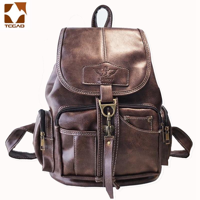 Female backpack mochila feminina leather women mochila mujer girls school backpack Feature multifunction 2019 travel mochila
