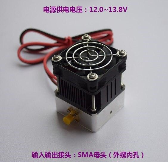 Module FM de haute fréquence d'amplificateur de puissance de cc 12 V 15 W 433 MHz 435 MHz RF pour la Radio de jambon d'uhf