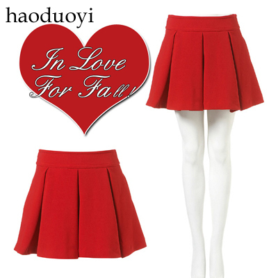 Women's thick skirt with fold decoration for  free shipping for manufacturer and retail
