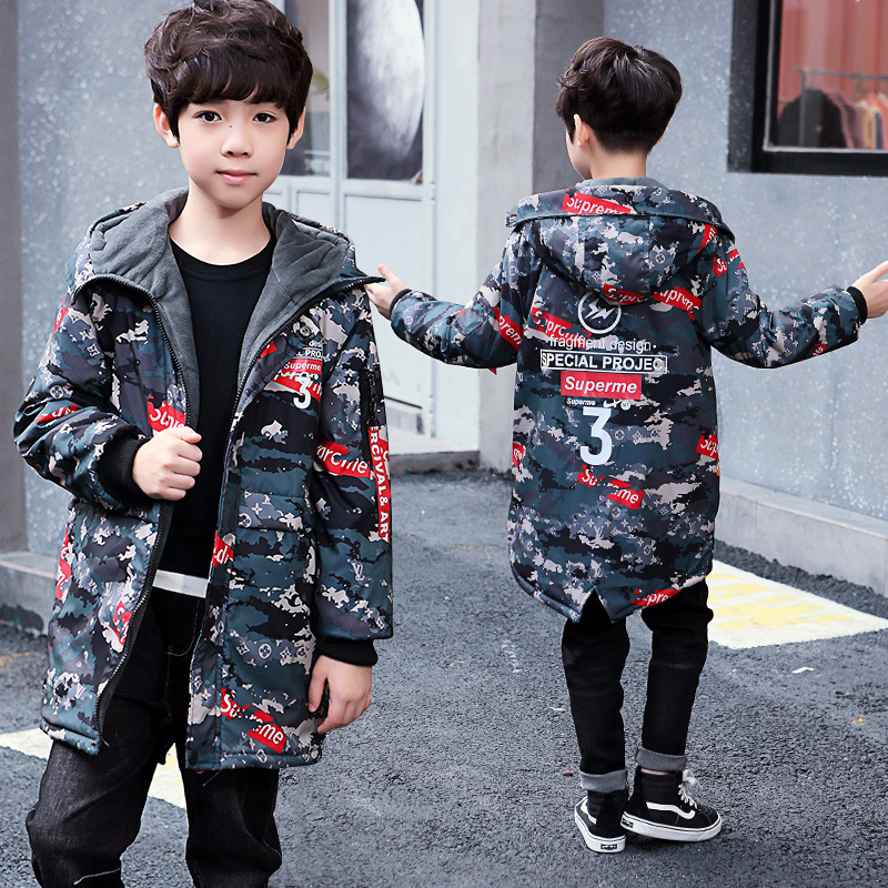 2018 girls parka Baby Boys Winter Coat Baby Boys Cotton Fashion camouflage Winter Jacket Outwear Kids Warm Cotton Padded high quality new winter jacket parka women winter coat women warm outwear thick cotton padded short jackets coat plus size 5l41