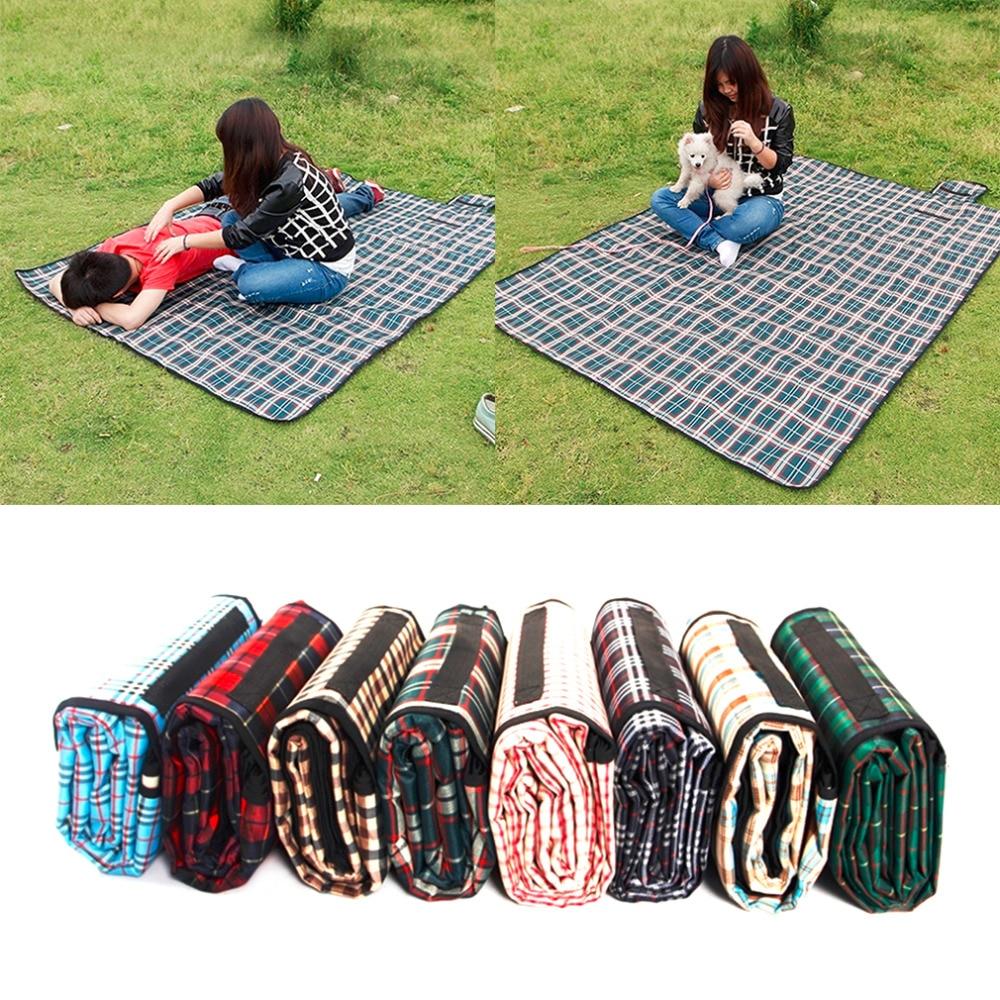 Portable Folding Waterproof Picnic Mat Camping Beach Pad ...
