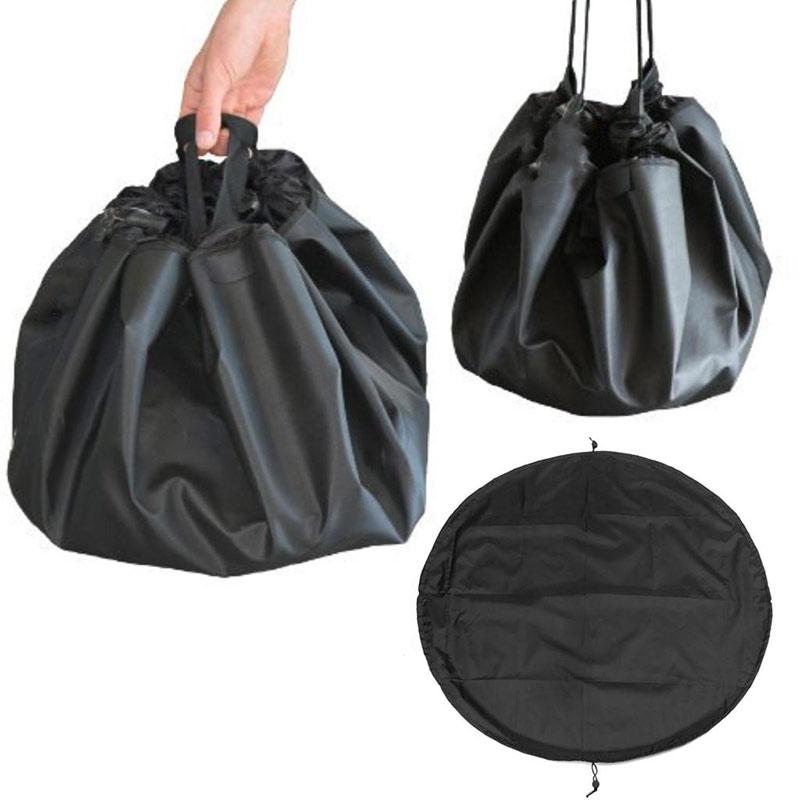 Reusable Potato Onion Pocket Drawstring Breathable Vegetable Toys Storage Bag CS