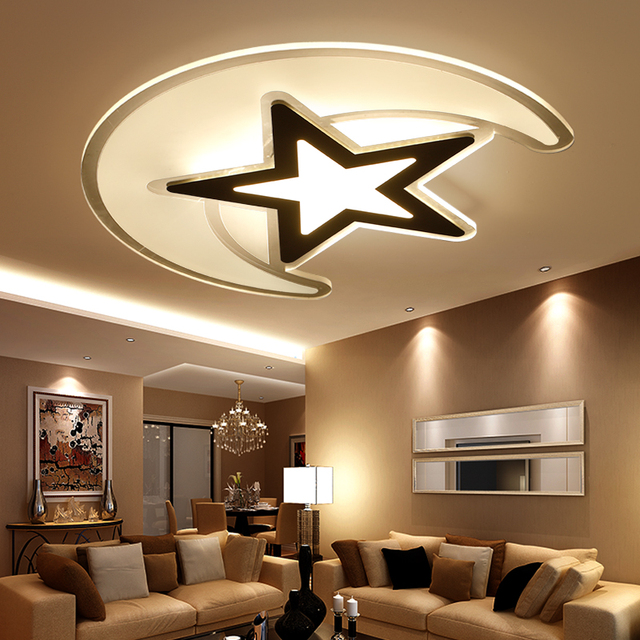 Hot Sale Remote Control Living Room Bedroom Modern Dimmable 24W LED Ceiling Lights Home Lamp