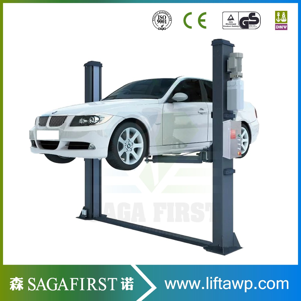 4 Tons Hydraulic Two Post Car Vehicle Lift