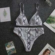 Imprimé maillot de bain femmes maillots de bain Bikini Push maillots de bain