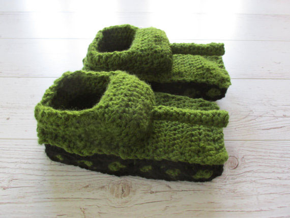 Tank slippers, Valentines gift,, Valentines Day Gift, baby shoes