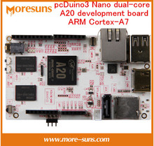Fast Free Ship pcDuino3 Nano dual-core A20 development board ARM Cortex-A7 Far Above Raspberry Pi 2/cubieboard