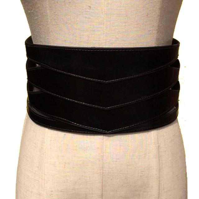 Cinturones anchos de mujer de Invierno para mujer cinturón de cuero punk  para mujer 42e42ce90cd0
