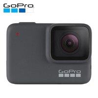 GoPro HERO7 серебристо водонепроницаемая цифровая экшн камера с сенсорным экраном 4 K HD видео 10MP фотографии