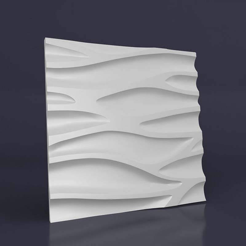3D Molds for Concrete Plaster Wall Stone Cement, plaster Tiles rubber molds Decorative wall molds 50*50cm