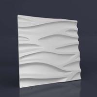 3D Molds for Concrete Plaster Wall Stone Cement, plaster Tiles rubber molds Decorative wall molds 50*50cm
