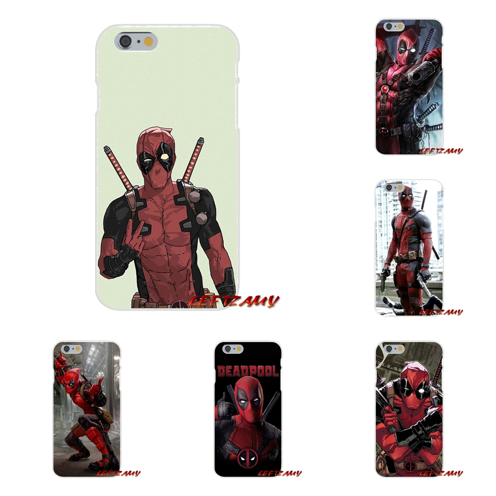 For Xiaomi Redmi 3 3S 4A 5A Pro Mi4 Mi4C Mi5S Mi6X Mi Max2 Note 3 4 5A Dead Pool Mobile Accessories Phone Shell Covers