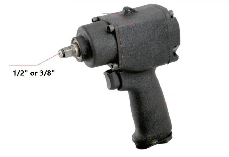 New 1pc 1/2 MINI Pneumatic Wrench Air Car Repairing  Wrench Cars Wrenches ToolsNew 1pc 1/2 MINI Pneumatic Wrench Air Car Repairing  Wrench Cars Wrenches Tools